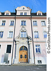 tax office Lindau - An image of the historic tax office in...