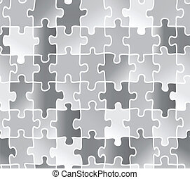 abstract texture puzzle silver gray color Use as a fill...