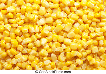 tinned corn background