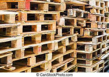madeira, Pallets