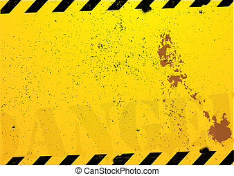 construction danger background