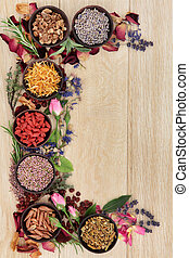 Witches Herbs - Medicinal herb selection also used in...
