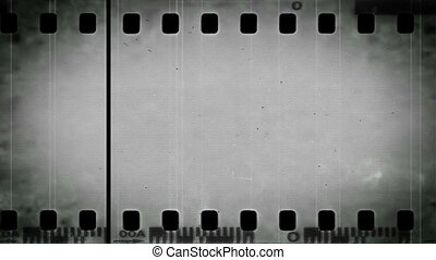 Film Negative Grunge Loop
