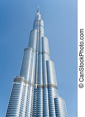 Burj Khalifa,Dubai - Burj khalifa, the highest building in...