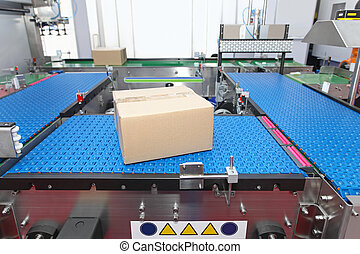 Conveyor systems - Packaging and handling goods at at...