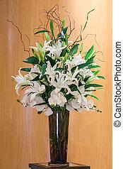 kwiat, Bukiet, Szkło, wazon