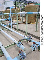 PVC Chemical pipe line - Chemical pipe line made from PVC in...