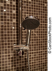 contemporary bathroom shower head