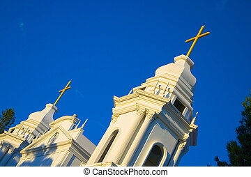 Costa Rica Church in Alajuela - The church in Alajuela,...