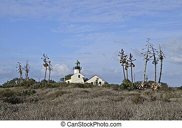 Point Loma Lighthouse - The Point Loma Lighthouse Cabrillo...