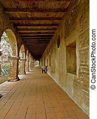 Stone Pillars San Juan Capistrano - The arches and stone...
