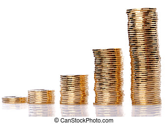 gold coins - Many gold coins. Loose Change.