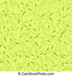 Floral seamless pattern with leaves Vector illustration for...