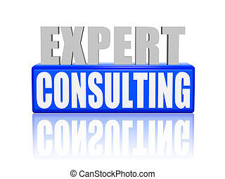 expert consulting in 3d letters and block - expert...