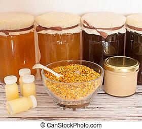miel, abeille, produits