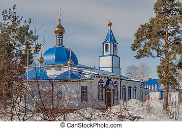 Uspensko-Nikolsky temple in Yalutorovsk Russia - Yalutorovsk...