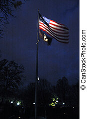 Windy Flag