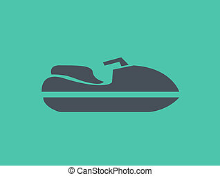 Transportation Flat Icon Vector Pictogram EPS 10