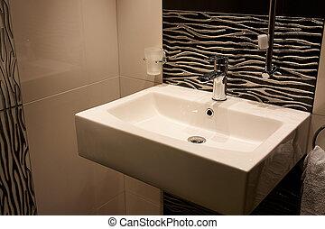 Beautiful Modern Bathroom in Luxury New Home