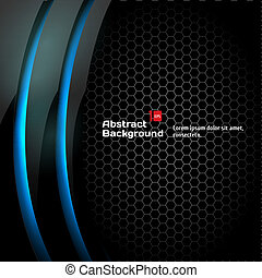 Abstract black background Vector Illustration for your...