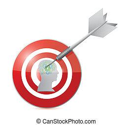 target working people illustration design