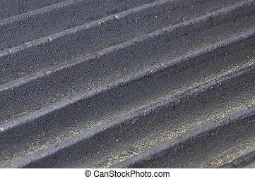 Cast iron rods background