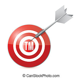 target trademark illustration design