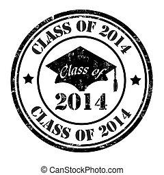 classe, 2014, selo