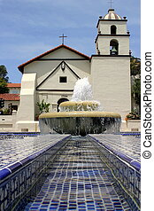 Mission Water - Water Fountain in front of the San Buena...