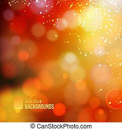 Yellow shine  background