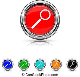 Search icon - six colours set
