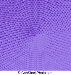 Violet background pattern with 3d effect