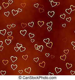 hearts background of Valentine's day. Love texture