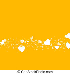 hearts background of Valentine's day. Love pattern