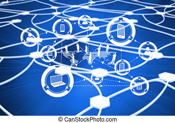 Composite image of community interface - Community interface...