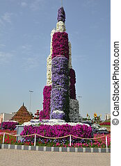 Dubai Miracle Garden in UAE