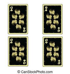 4 skull queens