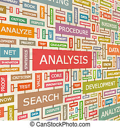 ANALYSIS. Concept related words in tag cloud. Conceptual...
