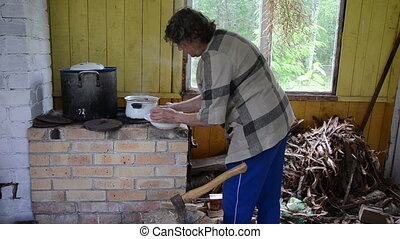 rural kitchen furnace