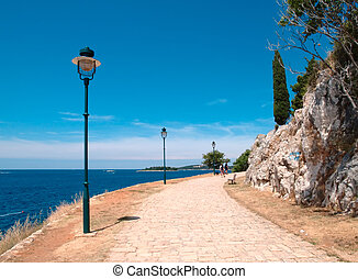 Promenade - One of the nicest places in Croatia Rovinj