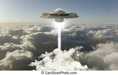 unidentified flying object - unidentified object flying in...