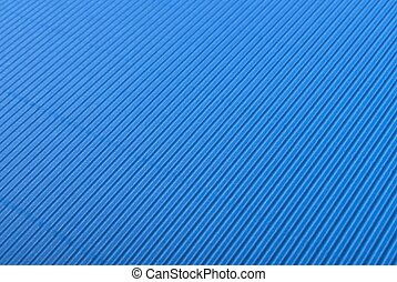 blue corrugated