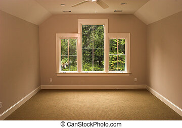 upstairs bedroom with view - upstairs bedroom with windows...