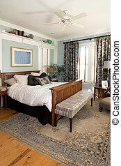 bedroom interior - cozy bedroom interior