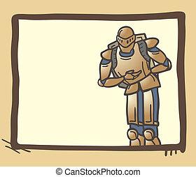 Medieval frame - Creative design of medieval frame