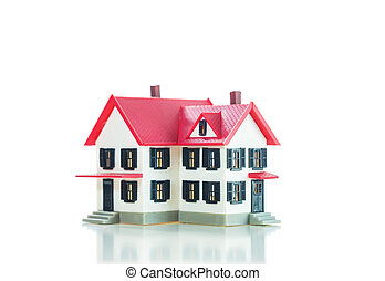 Residential house small model