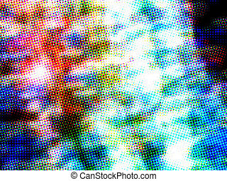 Dynamic Abstract Background - Dynamic Abstract Colorful and...
