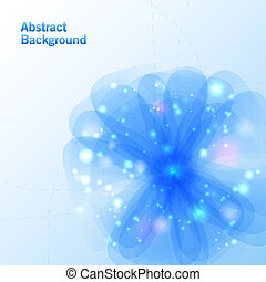 Abstract flower background Vector illustration for your...