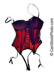 Red bodice