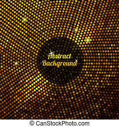 Abstract gold mosaic background.